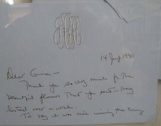 Joan Rivers note