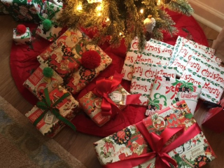 Christmas wrap nostalgic